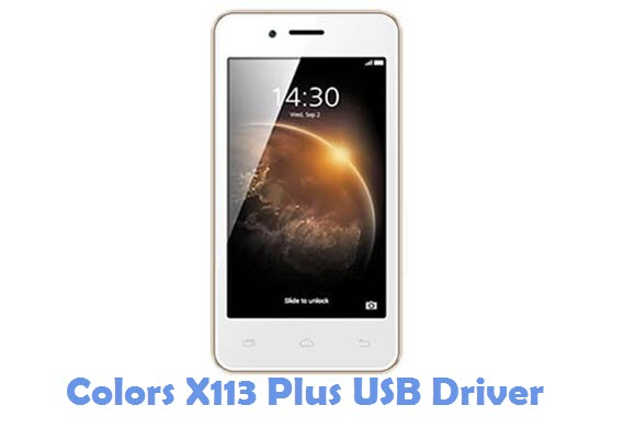 Download Colors X113 Plus USB Driver