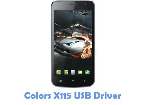 Download Colors X115 USB Driver