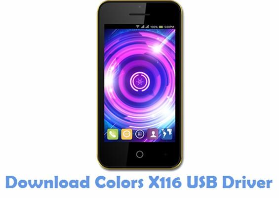 Download Colors X116 USB Driver