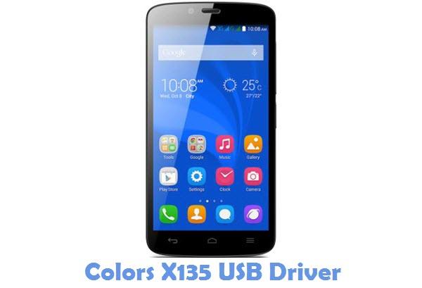 Download Colors X135 USB Driver