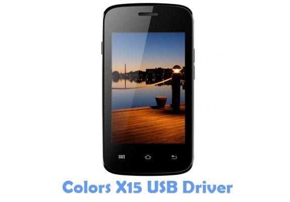 Download Colors X15 USB Driver