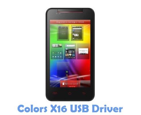 Download Colors X16 USB Driver