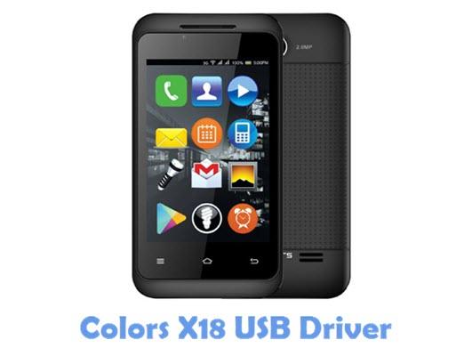 Download Colors X18 USB Driver
