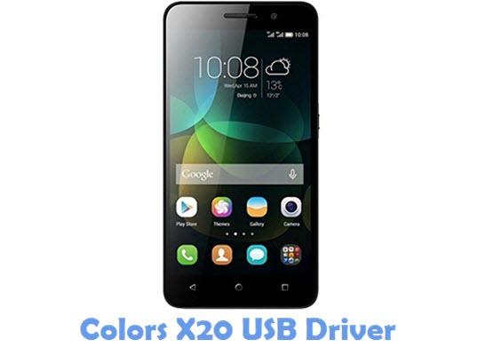 Download Colors X20 USB Driver