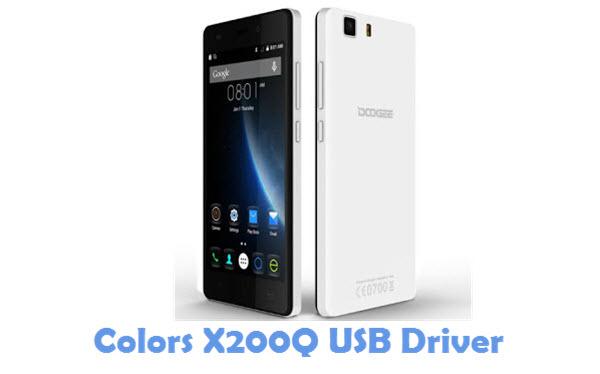 Download Colors X200Q USB Driver