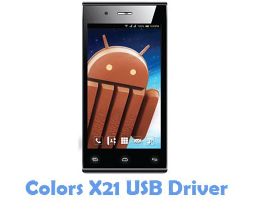 Download Colors X21 USB Driver