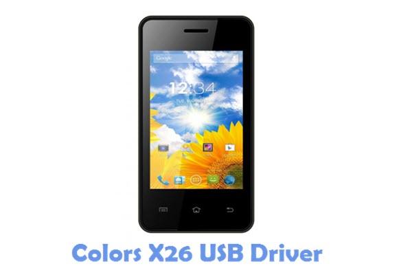 Download Colors X26 USB Driver