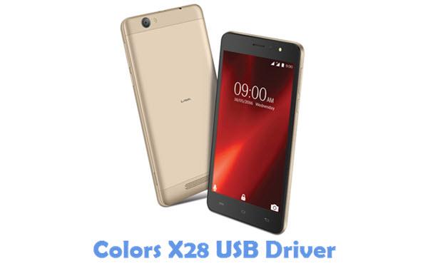 Download Colors X28 USB Driver
