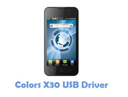 Download Colors X30 USB Driver