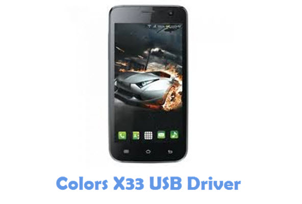 Download Colors X33 USB Driver