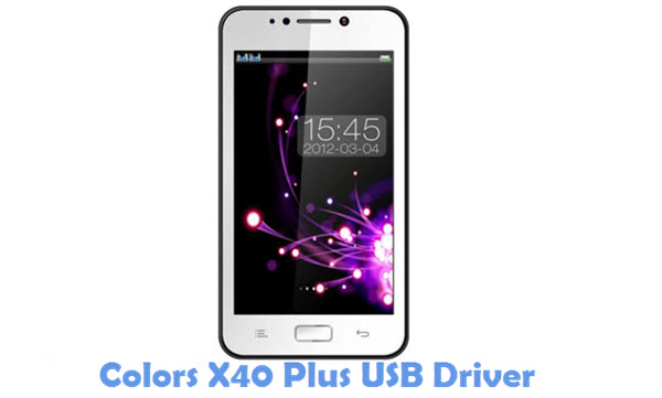 Download Colors X40 Plus USB Driver
