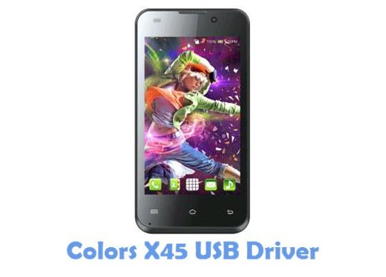 Download Colors X45 USB Driver