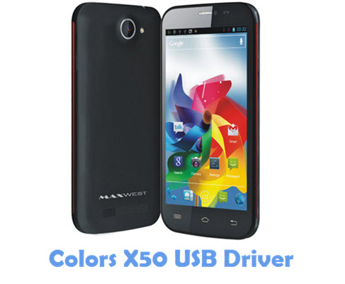 Download Colors X50 USB Driver