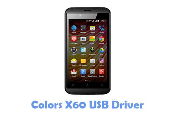 Download Colors X60 USB Driver
