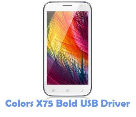 Download Colors X75 Bold USB Driver