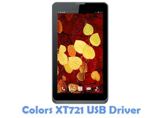 Download Colors XT721 USB Driver
