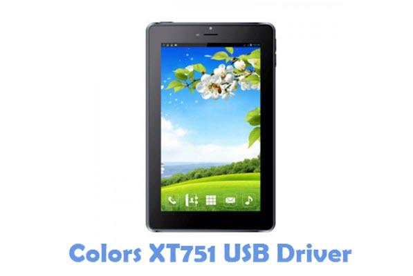 Download Colors XT751 USB Driver