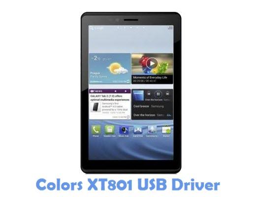Download Colors XT801 USB Driver