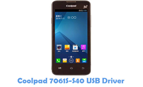 Download Coolpad 7061S-S40 USB Driver