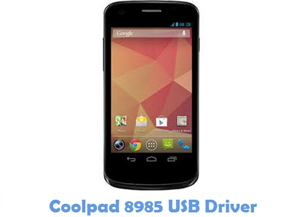 Download Coolpad 8985 USB Driver