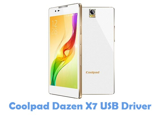 Download Coolpad Dazen X7 USB Driver
