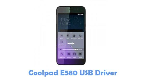 Download Coolpad E580 USB Driver