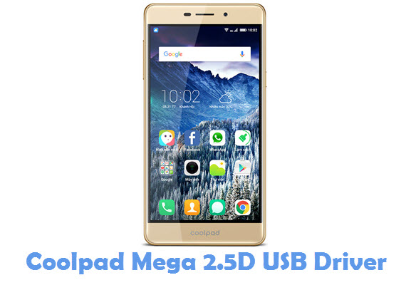 Download Coolpad Mega 2.5D USB Driver