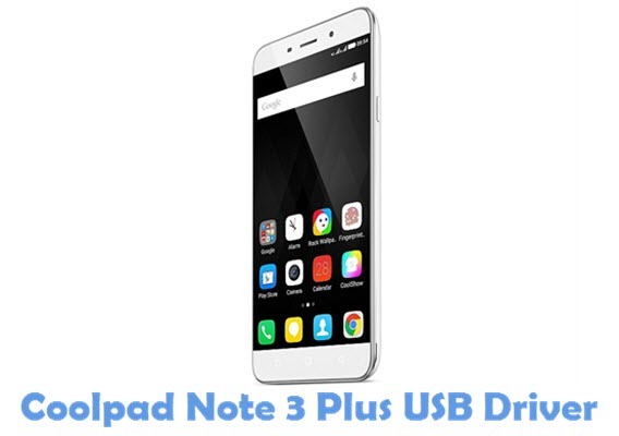 Download Coolpad Note 3 Plus USB Driver