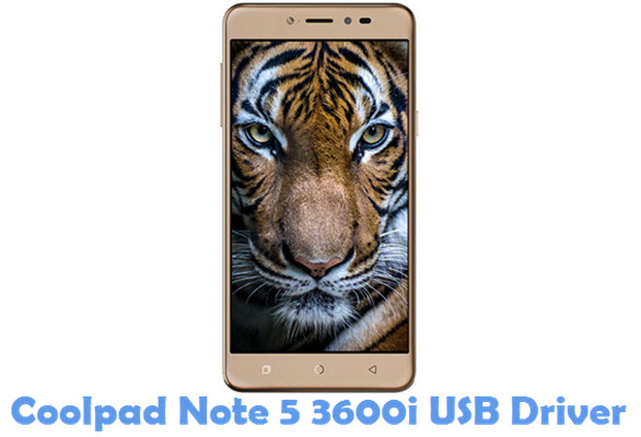 Download Coolpad Note 5 3600i USB Driver