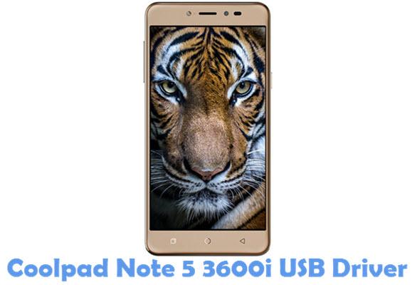 Download Coolpad Note 5 3600i USB Driver