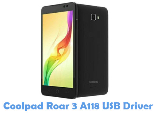 Download Coolpad Roar 3 A118 USB Driver