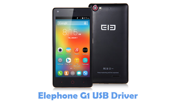 Download Elephone G1 USB Driver