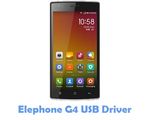 Download Elephone G4 USB Driver