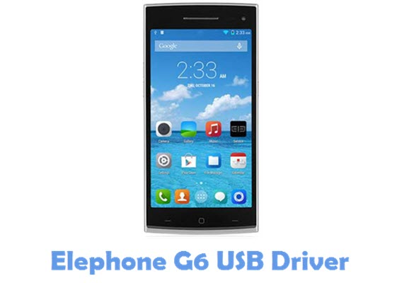 Download Elephone G6 USB Driver
