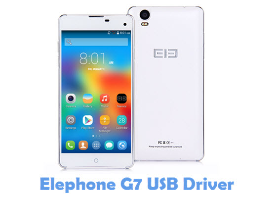 Download Elephone G7 USB Driver