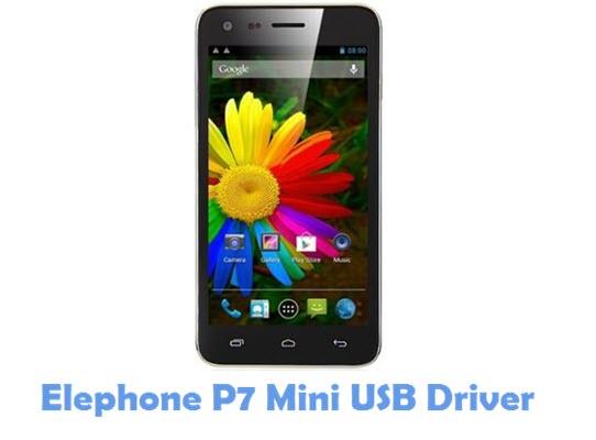 Download Elephone P7 Mini USB Driver