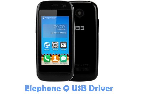 Download Elephone Q USB Driver