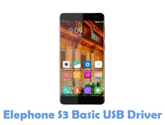 Download Elephone S3 Basic USB Driver