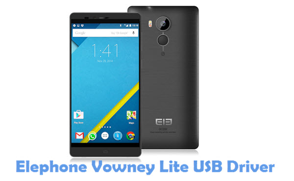 Download Elephone Vowney Lite USB Driver
