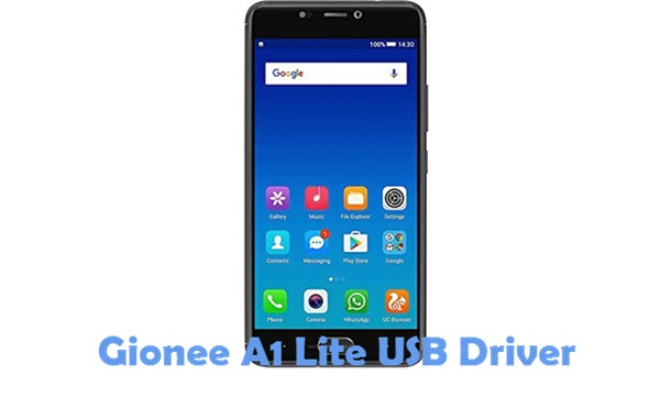 Download Gionee A1 Lite USB Driver