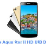 Intex Aqua Star II HD USB Driver