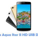Intex Aqua Star II HD USB Driver