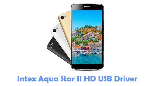 Download Intex Aqua Star II HD USB Driver
