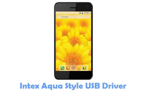 Download Intex Aqua Style USB Driver