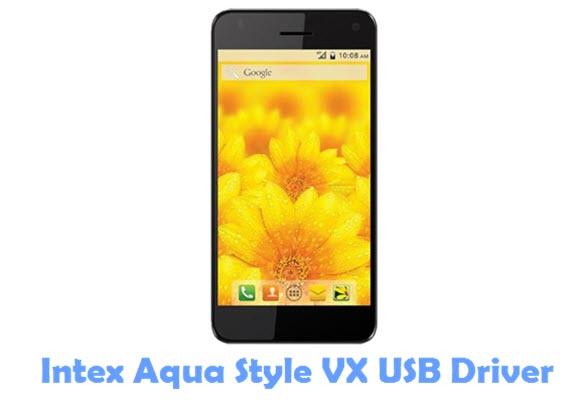 Download Intex Aqua Style VX USB Driver
