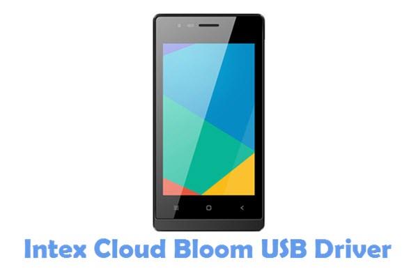 Download Intex Cloud Bloom USB Driver