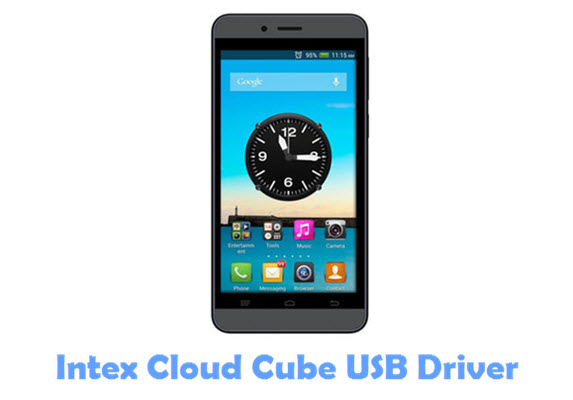 Download Intex Cloud Cube USB Driver