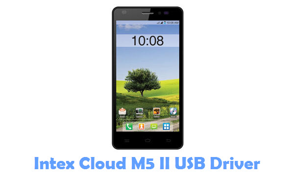Download Intex Cloud M5 II USB Driver