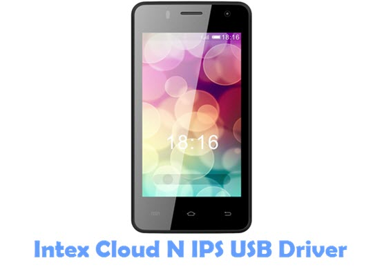 Download Intex Cloud N IPS USB Driver