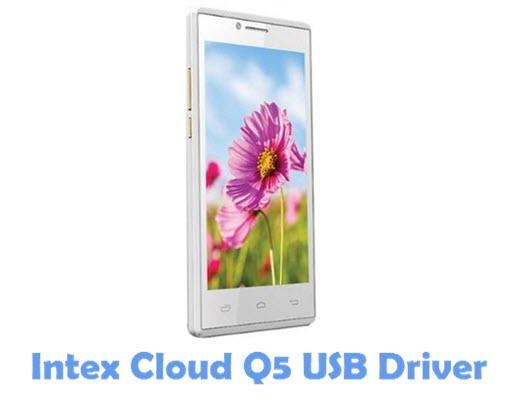 Download Intex Cloud Q5 USB Driver
